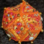 15 Sided pincushion Polly Templeton