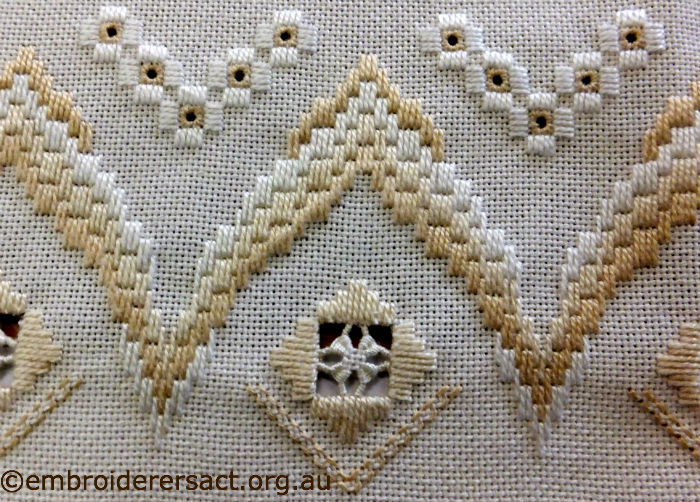 Bargello and Hardanger Runner