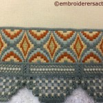 Bargello & Hardanger Table Runner