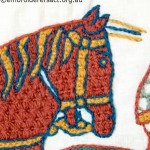 Horse from Bayeux Tapestry