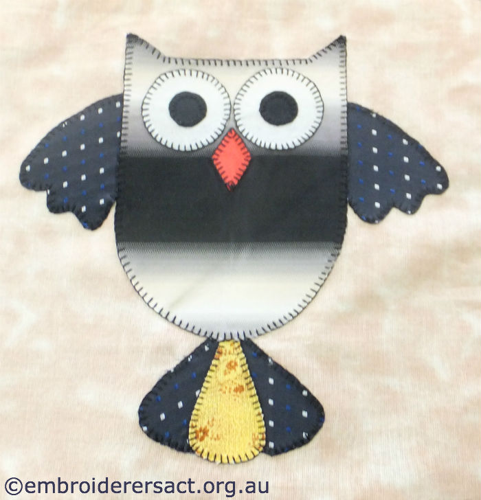 Quilt Block from Owl Quilt