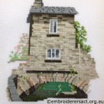 Cross Stitch of Bridge House Ambleside