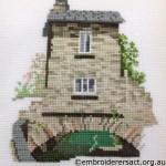 Cross Stitch of Bridge House Ambleside