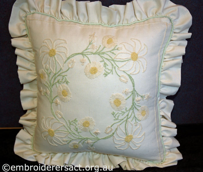 Candlewicking Cushion