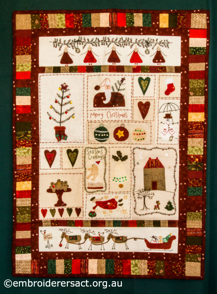 Christmas Fun Wall Hanging