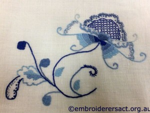 Deerfield embroidery