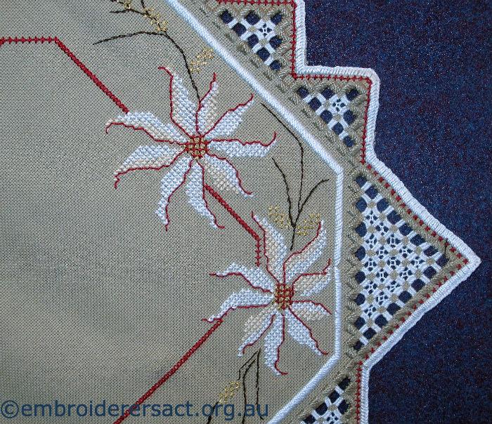 Hardanger & Surface Embroidery Doyley
