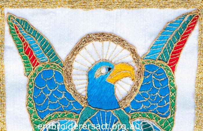Goldwork Eagle
