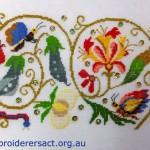Elizabethan Flower Cross Stitch