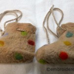Felted Polka Dot Shoes