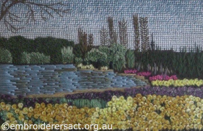 Embroidery of Floriade