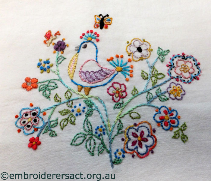 Funky Chick Embroidery