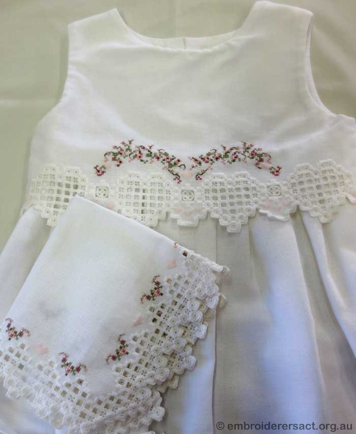 Baby and Bride Christening Gown