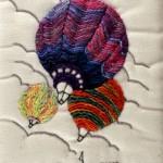 Hot Air postcard by Jillian Bath