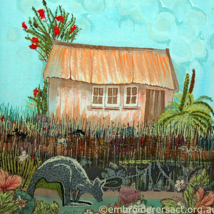 Westland Hut by Lyn Baldwin