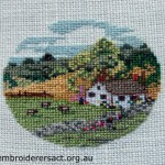 Miniature Brooch Cross Stitch