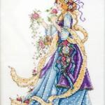 Rose Lady X-stitch by Samantha Benda