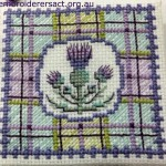 Scottish cross stitch