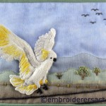 Screetch postcard by Lorna Loveland