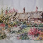 Thatched Cottages Cross Stitch