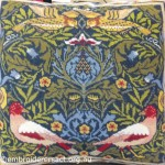 William Morris Cross Stitch Cushion