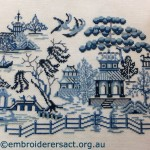 Willow Pattern X-stitch