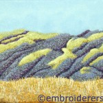 Winter shadows Brindabellas stitched by Joyce Weeks