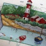 Lighthouse Permin Danish Art Needlework