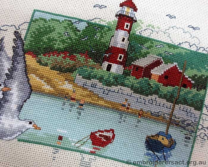 Lighthouse Permin Danish Art Needlework