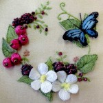 Stumpwork and raised embroidery