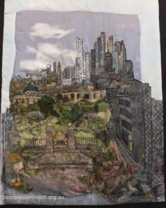 Cityscape by Carol Pichelman