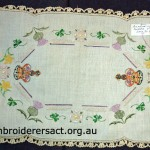 Vintage Coronation Tray Cloth