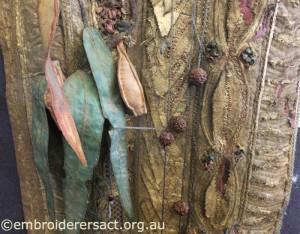 Detail gum leaves by Carol Pichelman