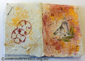 Dorothy Rudling bird card
