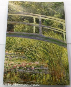 Fran Novitski Monet notebook