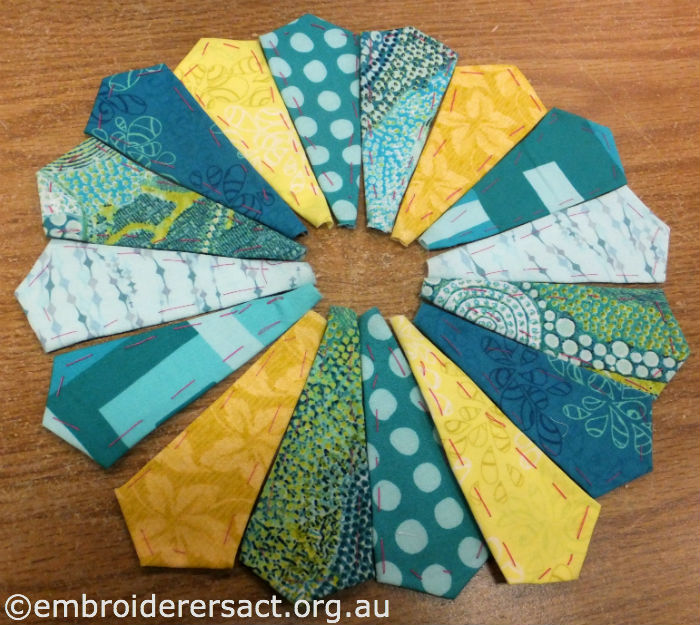Dresden Star for Quilt