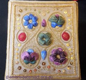 Siennese Treasure Lid by Fran Novitski