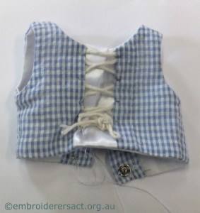 Tovah doll corset