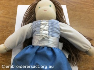 Tovah doll with corset