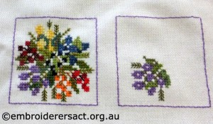 xstitch squares by Helen Nastopoulus
