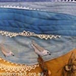 Detail of Needlelace Sandpipers