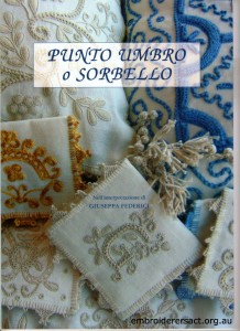 Giuseppa Federici Book Cover Punto Umbro o Sorbello