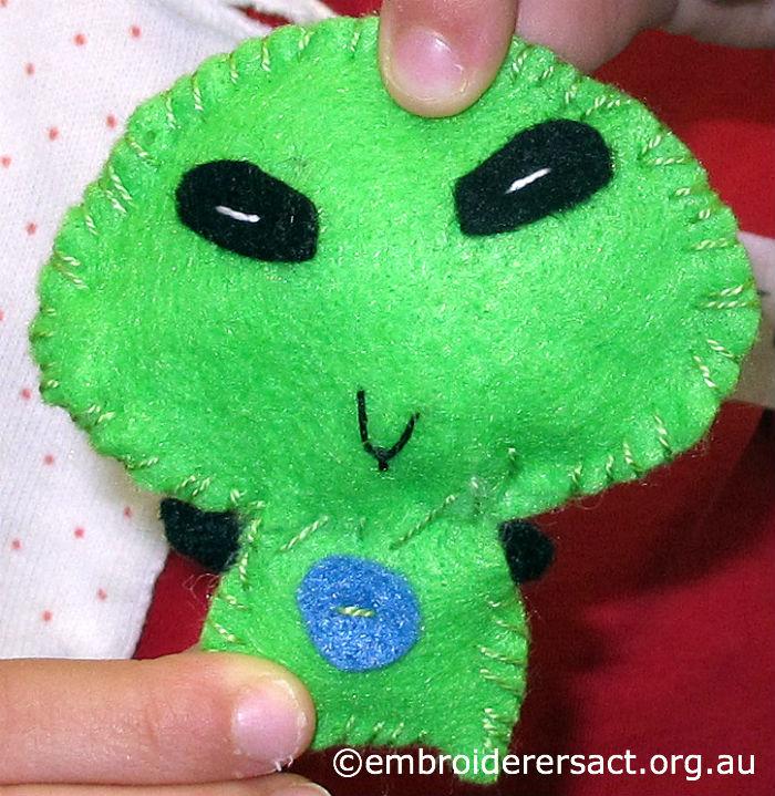 Alien Feltie