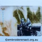 Re-interpretation of WW1 Silk Postcard