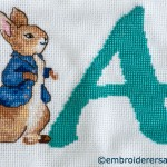 Peter Rabbit Alphabet Cross Stitch
