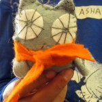 Owl Feltie with Scarf