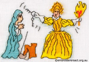 Barbara Bailey xstitch Mary Queen of Scots