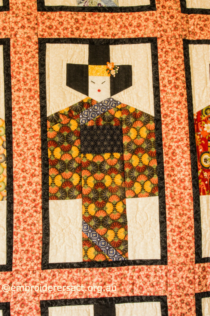 Block from Japanese Quilt