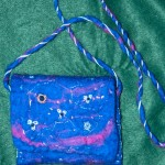 Blue felted Shoulder ag
