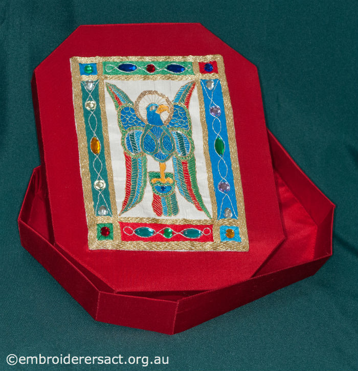 Box with Goldwork Eagle